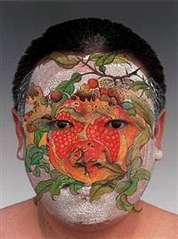 face 3 by huang yan