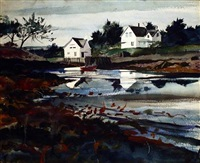 ocean inlet by andrew wyeth