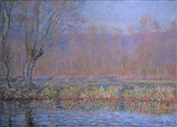 le saule by claude monet