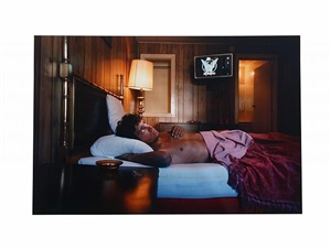 "mike, 26 years old, ?, 30$ ""hustlers"" by philip-lorca dicorcia"