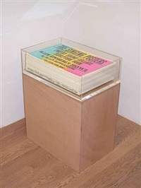 the singing posters, poetry sound collage scupture book, allen ginsberg's howl by allen ruppersberg