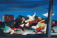 strike! by william gropper