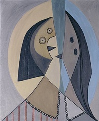 not picasso (têtes, 1929) by mike bidlo