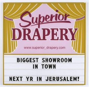 superior drapery by ken lum