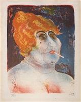 the madam by otto dix
