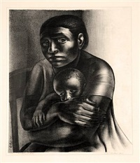 mother and child by john wilson