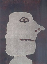 profil a droite by jean dubuffet