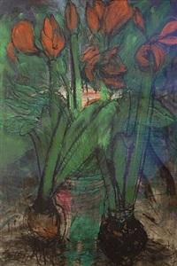 amaryllis iv 2005 by jim dine