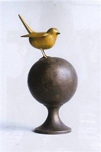 petit oiseau sur la boule by françois-xavier lalanne