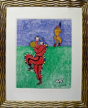 baseball by niki de saint phalle