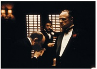 homage, marlon brando in, the godfather, new york by steve schapiro