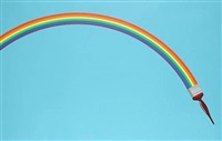 rainbow paint by patrick hughes