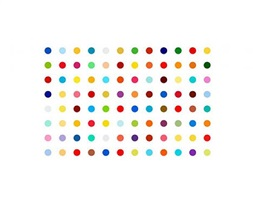 bromphenol blue by damien hirst