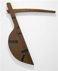 a last word: rudder (with keith brookwell and john andrew) by ian hamilton finlay