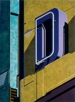 an american alphabet: d by robert cottingham