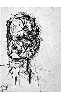 david landau by frank auerbach