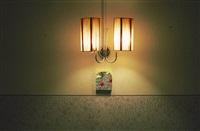hotel bregaglia, yellow wall, 2000/2009 by leta peer
