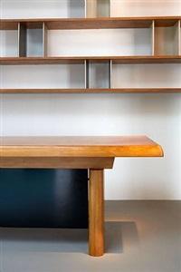 bibliothèque + bureau de la mairie de tokyo by charlotte perriand