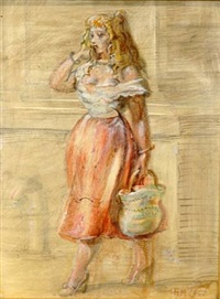 summer walk by reginald marsh