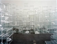 untitled (vitrines 5 - secret secrets) by terence koh