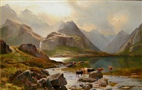 loch coruisk, isle of skye by sidney richard percy
