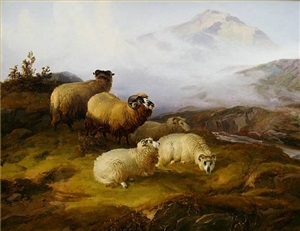 storm brewing by thomas sidney cooper