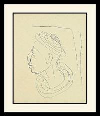 portrait by diego giacometti