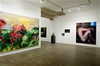 exhibition view by rainer fetting