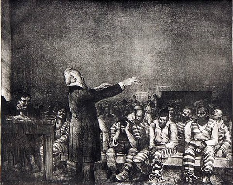 benediction in georgia by george wesley bellows