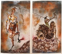 my strength lies by wangechi mutu