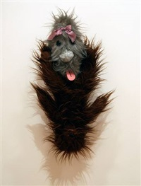 double figure (hairy) by mike kelley