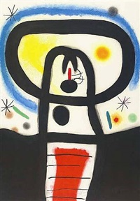équinoxe, (d. 428) by joan miró
