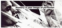 untitled (memory is your image of perfection) by barbara kruger