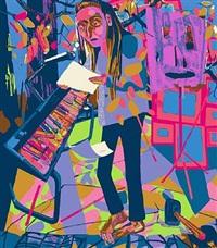 tapestry by dana schutz
