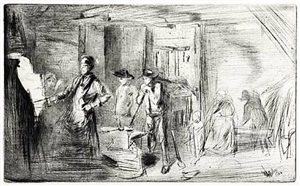 the forge by james abbott mcneill whistler