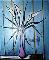 arums by bernard buffet