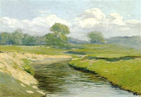 meadow creek by edward willis redfield