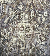head of a king by richard pousette-dart