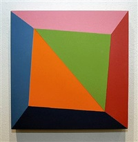 diagonal square twist by ronald davis