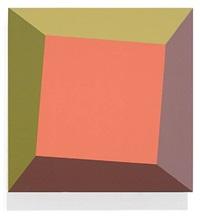 pink square twist by ronald davis