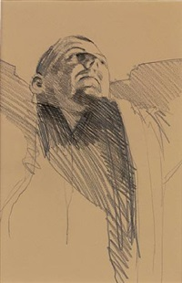study for a painting by stephen conroy