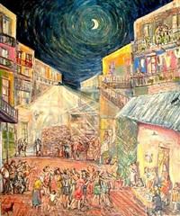 fiesta en el conventillo by bartolome vaccarezza