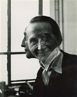 portrait of marcel duchamp by victor obsatz