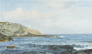 'graycliff', site of the artist's conanicut island home by william trost richards