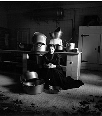 the kitchen iii - homage to saint therese by marina abramović
