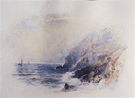 along the jersey coast, england by william trost richards