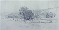 landscape study by william trost richards