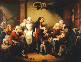 l'accordée de village nn-371 by jean baptiste greuze