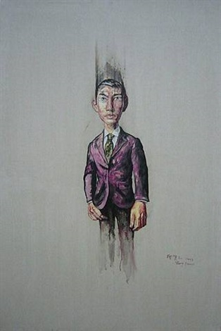 portrait by zeng fanzhi