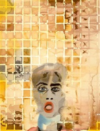 self portrait by francesco clemente